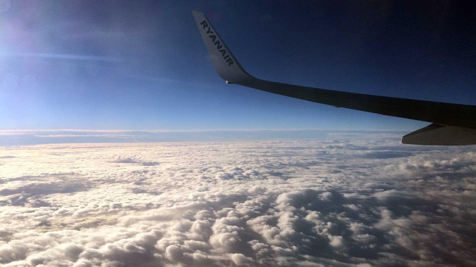 Ryanair iznad Sredozemnog mora
